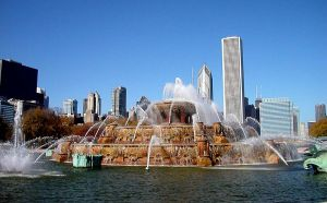 Buckingham Fountain - Chicago by LadyAhz