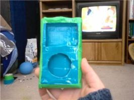 Duct Tape iPod Cover by ducttapecreations