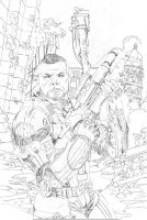 Mass Effect Homeworlds 1 variant pencil by MisterHardtimes