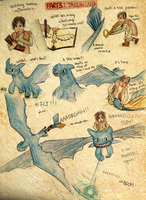 HTTYD Hiccup + Toothless PART3 by vivsters