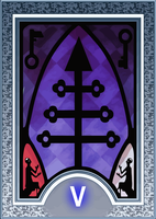 Persona Tarot Card HD - The Hierophant by The-Stein
