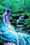 Suicune Cosplay - whisper of trees by LostRiddle
