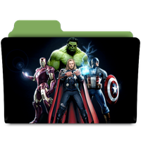 The Avengers folder by janosch500