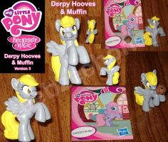 Derpy Hooves 3.0 and Muffin - For Sale on eBay by Stitchfan