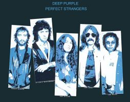 Deep Purple  Perfect Strangers by policezombie