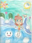 Daisy in Dream Long Jump by PrincessDaisyRocks10