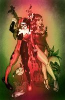 Harley and Ivy by JoaoRodrigoBaptista