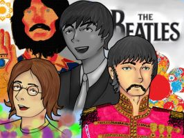 A simple Beatles's tribute by Parlant4