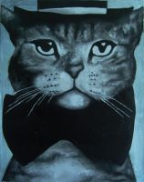 Cat With Hat by janina