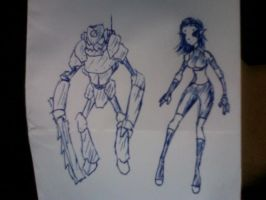Xenovember 2013: 1st concept sketches by wightpower
