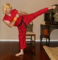 Classic Ken Masters Cosplay 4 by IronCobraAM