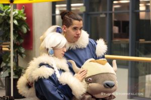 Princess Yue and Sokka by Stormfalcon