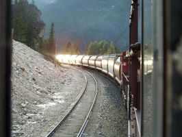Grain Train Reflection by MrConductor