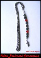 Celtic Bookmark Commission by 1337-Art