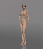 Nude Claire! by anorexianevrosa