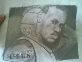 lebron james by angelwing19