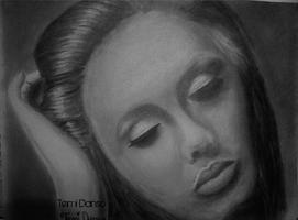 Adele Drawing by MsTemmii