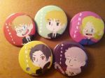 Hetalia Allied Power Buttons FOR SALE by jay1892