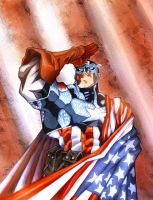 Cap America by eldeivi