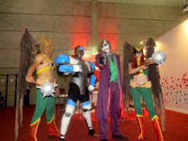 DC Comics Characters - Comic Con Experience by Paula2099
