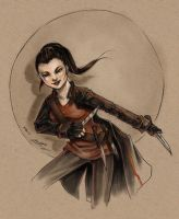 Fanart - Clove by fictograph