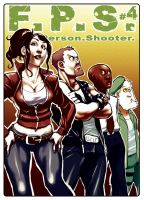 FPS Fanzine Cover Left 4 Dead by sterna