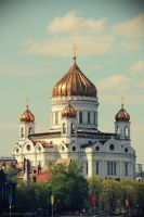 Cathedral of Christ the Saviour by maremerald
