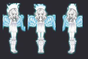 Ivory Snow Basilisk Outfits by jovanal