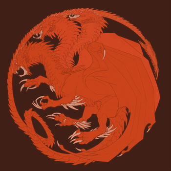 Fire and Blood by HelmiP