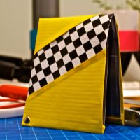 New design, seamless ideal duct tape wallet by weRDunfo