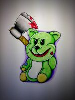 Psychotic Teddy by BeyondEdge