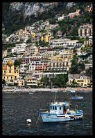Amalfi Harbor by PatrickTCPope