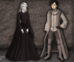 Stoneheart and Petyr by alcanis-ivennil