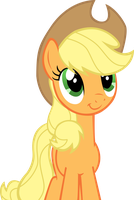 Applejack blissful by LcPsycho
