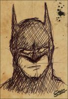 Batman Sketch by Ciro1984