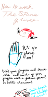 The Spine Gloves tutorial by mandymini
