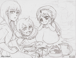 Magi Labyrinth of Magic sketch by 51390