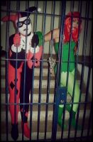 Harley and Ivy: In Jail by ItsReah