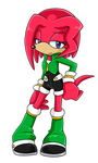 Knuckles X Lien-Da Fan Child .:Female:. by DJ-David-Jordan