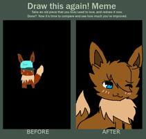 Draw this again! Meme by ShinyZorua120
