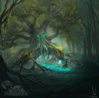 The forest's master  - Mitos y Leyendas TCG by SolDevia