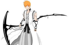 Ichigo New Bankai Concept by Arrancarfighter