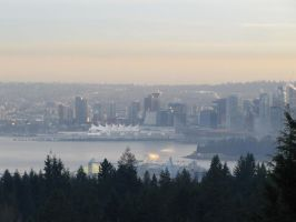 Downtown Vancouver by MoonchildLuiza