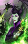 Maleficent by TyrineCarver