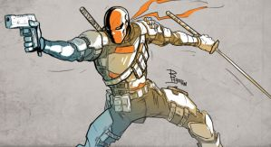 Deathstroke by TheBabman