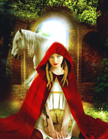 Red riding hood manip by Twi-art