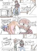 Playing Video Games the Comic by ShikaXsaysXRAWR