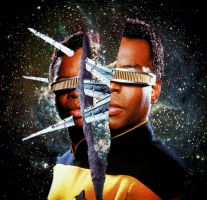 Geordi Laforgery by live-by-evil