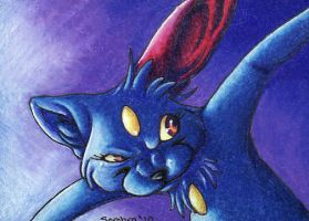 ACEO- Sneasel by SombraStudio