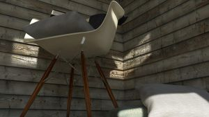 Armchair Eames view 2 by KRYPT06